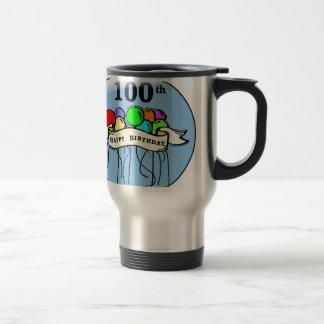 Happy 100th Birthday ballons Coffee Mugs