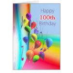 Happy 100th Birthday Balloon Wall