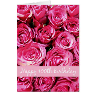 happy 100th birthday greeting cards