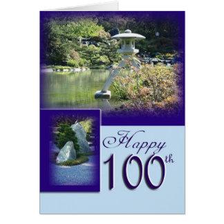 Happy 100th Birthday Greeting Card