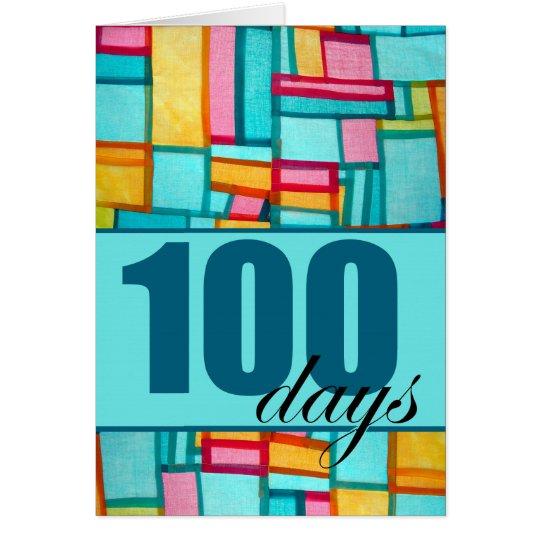Happy 100th Day, Korean Baek-il Birthday for Boy