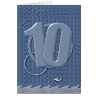 Happy 10th Birthday! Card
