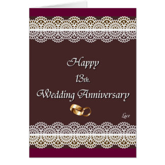 13th Wedding Anniversary Gifts T Shirts Art Posters
