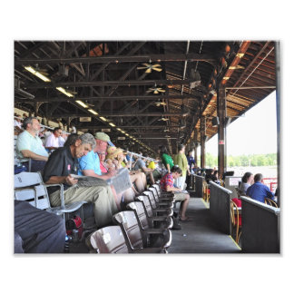 Happy 150th Birthday to Saratoga Race Course Photo Print
