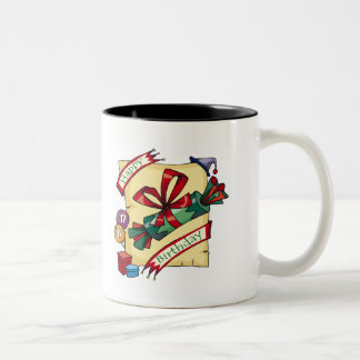 Happy 17th Birthday Gifts Two-Tone Mug
