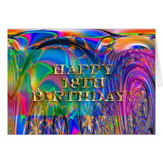Happy 18th Birthday Greeting Cards
