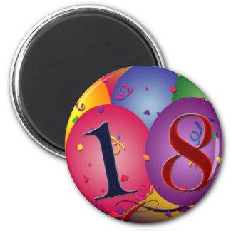 Happy 18th Birthday! Magnet