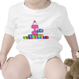 happy 1st christmas tee shirt