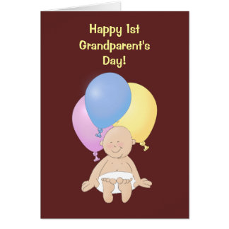 Happy 1st Grandparent's Day! Card