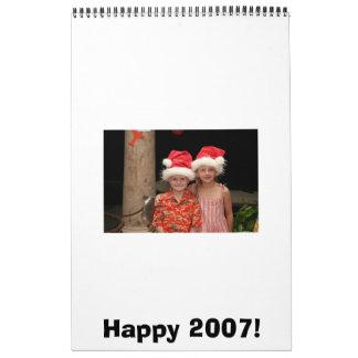 Happy 2007! calendars