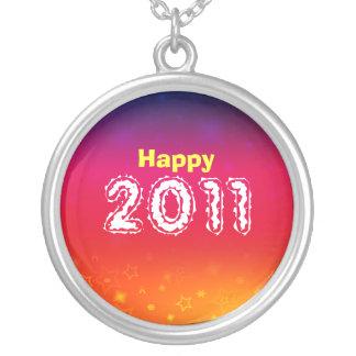 Happy 2011 Necklace