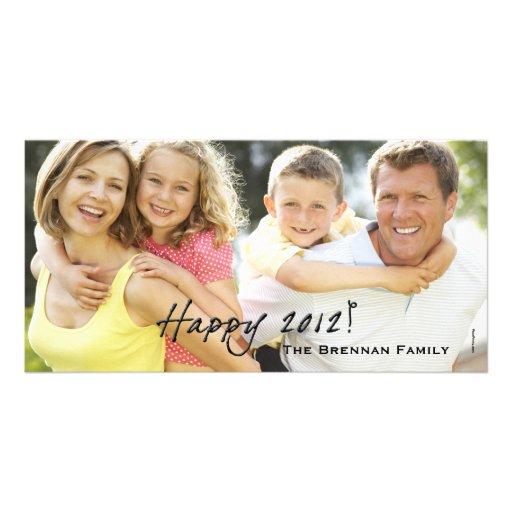 Happy 2012 - Holiday Photo Card