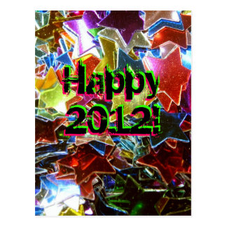 Happy 2012! postcard