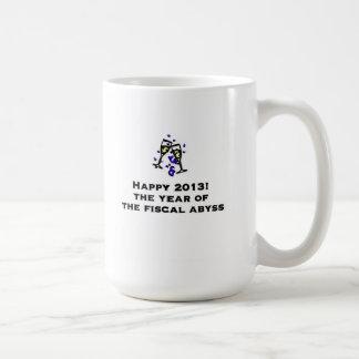 Happy 2013 basic white mug