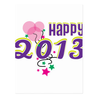 happy 2013 post cards