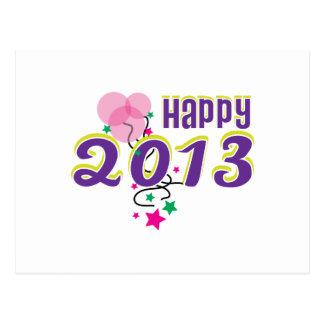 happy 2013 postcards