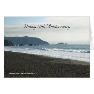 Happy 20th Anniversary Greeting Card
