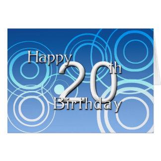 Happy 20th Birthday ( birthday) Greeting Card