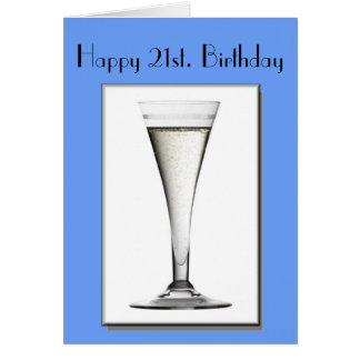 Happy 21st. Birthday Card