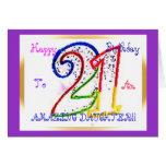 Happy 21st Birthday Daughter!