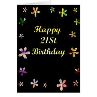 Happy 21St Birthday Greeting Card