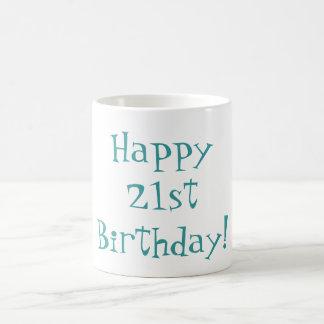 Happy 21st Birthday! Mug