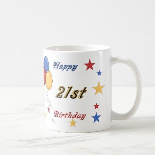 Happy 21st Birthday Mug