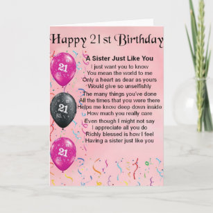 Sisters 21st Birthday Gifts Gift Ideas