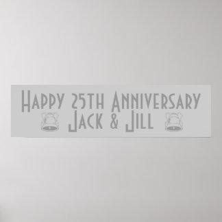 Happy 25th Anniversary Poster