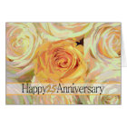 Happy 25th Anniversary roses Card