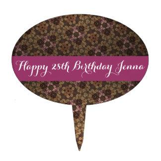 Happy 28th Birthday Jenna Cake Topper