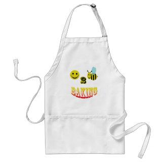 happy 2 bee baking adult apron