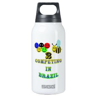 happy 2 bee competing in brazil