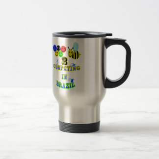 happy 2 bee competing in brazil cotestants mug