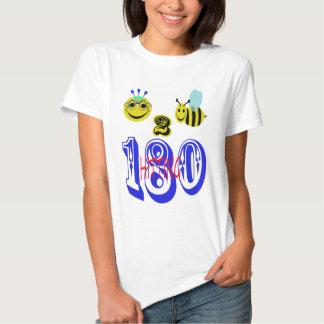 happy 2 bee hitting 180 shirt