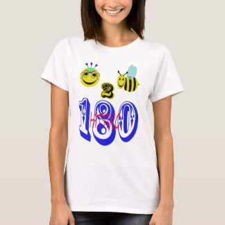 happy 2 bee hitting 180 T-Shirt
