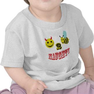 happy 2 bee naughty tshirt