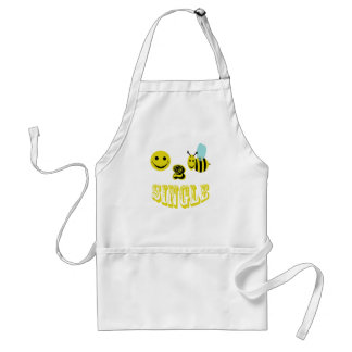 happy 2 bee single aprons