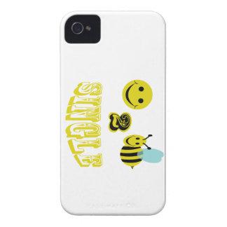 happy 2 bee single iPhone 4 cases