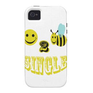 happy 2 bee single vibe iPhone 4 case