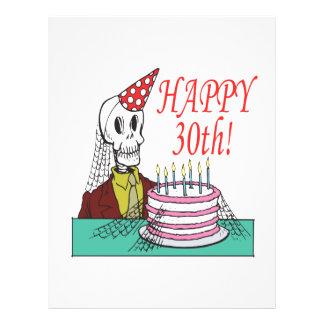 Happy 30th flyer