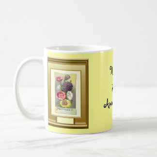 Happy 35th Anniversary, Floral group Basic White Mug