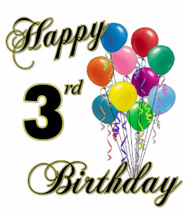 Happy 3rd Birthday Shirts And Apparel