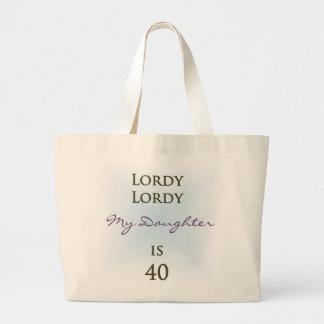 Happy 40th Birthday Bags