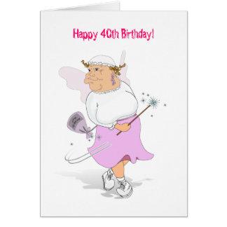 Happy 40th Birthday! Card