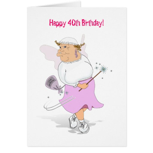 Happy 40th Birthday! Greeting Cards