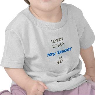 Happy 40th Birthday Tee Shirts