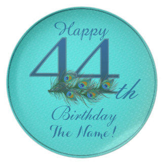 Happy 44th Birthday - 100% personalized plates
