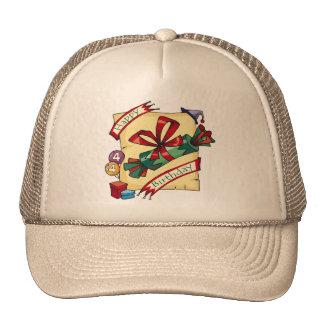 Happy 4th Birthday Gifts Hat