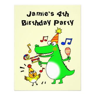 Happy 4th Birthday I am 4 Announcements